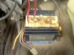 battery isolator what is wrong with this picture? irv2 forums Ignition Switch Relay Wiring Irv2 Forums photo 2 is the engine battery it looks a little fuzzy, but what we have is both the \