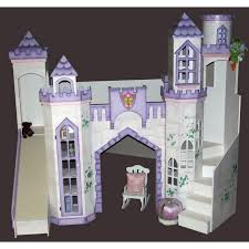 Princess Castle Bedroom Castle Bunk Beds And Play Forts For Your Kids Bedroom Are Hand