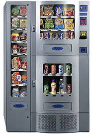 Compact Combination Vending Machine Cool NICE SEAGA PLANET ANTARES OFFICE DELI COMBO SODA SNACK VENDING