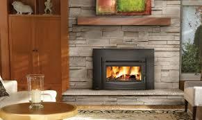 wood stove insert ideas