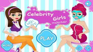 celebrity s makeover dress up s makeup princess beauty salon hot beauty