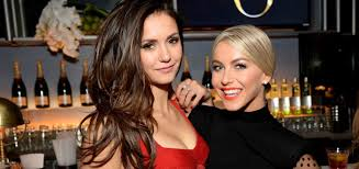 We don't sit drinking coffee for five hours as we would drinking in a bar. Bffs Nina Dobrev And Julianne Hough Launch A Wine Brand My Imperfect Life