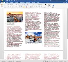 Formidable Brochure Templates For Word Template Ideas Free