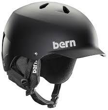 Bern Womens Helmet Size Chart Bern Watts Eps Audio Winter Snowboard Helmet S Matte Black