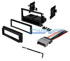 stereo wiring harness chevy car stereo radio kit dash installation mounting trim bezel wiring harness fits chevrolet
