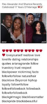 Flex Quotes Gorgeous Flex Alexander And Shanice Recently Celebrated 48 Years Of Marriage