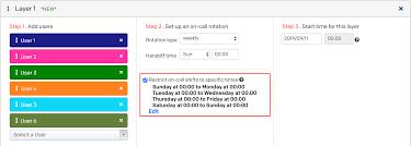 weekly schedule example schedule examples
