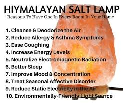 Salt Rock Lamp Benefits