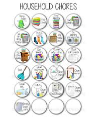Details About Kids Chore Chart Magnets Magnetic Chore Board Chore Magnet Household Chores