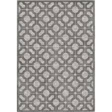 8 x 11 large gray indoor outdoor rug boucle
