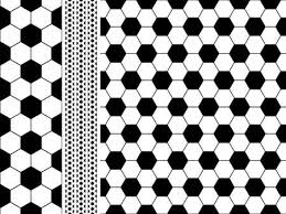 Football Pattern Unique Seamless Football Soccer Pattern Royalty Free Cliparts Vectors