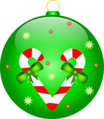 Free Ornament Clip Art Image  Christmas Ornament With Holly And Christmas Ornament