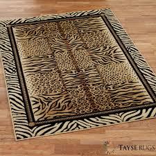 Leopard Print Living Room Print Rug Rugs Ideas