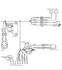 Image right hand side of 2 page wiring diagram