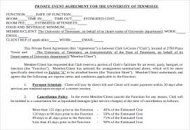 event agreement contract event contract template 18 free word excel pdf documents