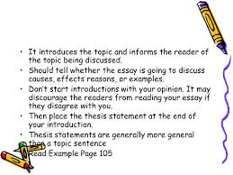 essay writing an essay is a group of paragraphs that develops one  4 it introduces