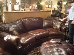Omnia Leather Tucson 3 Seat Conversation Couch Saw It At