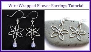 easy wire wrapped jewelry tutorial flower earrings you rh you com wire wrapped chandelier earrings wire