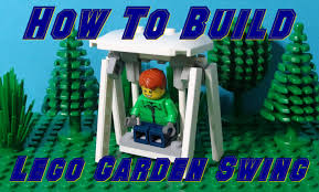 Small Picture How To Build A Lego Garden Swing Chair YouTube