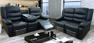 milano leather recliner sofa set reviews india dubai black reclining in furniture likable surpris
