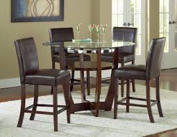 home and interior design ideas contemporary round dining table set venus counter height glass top