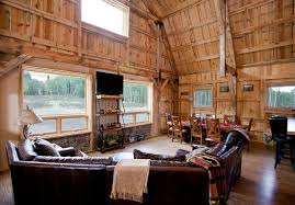 Various Barn Home Interiors traditional-living-room