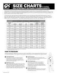 77 Matter Of Fact Gk Elite Gymnastics Leotard Size Chart