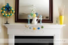 spring decorating ideas for your fireplace mantel shelf design