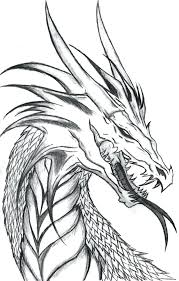 Realistic Coloring Pages Of Dragons At Getdrawingscom Free For