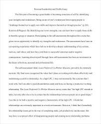 essay writing samples leadership and profile essay writing