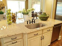 Decorations For Kitchen Counters Kitchen Kitchen Counter Decor Intended For Trendy Rustic Granite