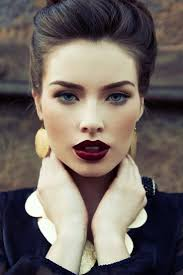 full make up old hollywood glamour glamour goth