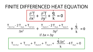heat transfer l12 p1 finite difference heat equation