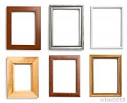 diffe types of picture frames