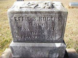 Effie Berry Rogers (1886-1926) - Find A Grave Memorial