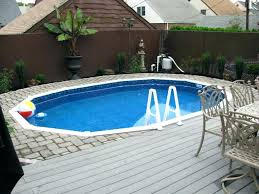 semi inground pool ideas. Captivating Semi Inground Pools With Deck Pool Ideas Backyard Home And Space . T