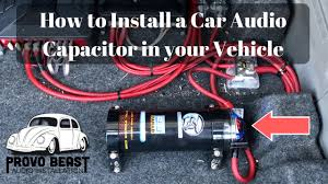 car capacitor wiring diagram wiring diagram sample how to install a car audio capacitor in your vehicle car capacitor wiring diagram car capacitor wiring diagram