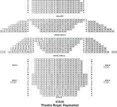 Theatre Royal Newcastle Seating Chart Theatre Royal Haymarket Seating Plan The Theatre Holds