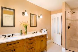 Cream Colored Bathroom traditional-bathroom
