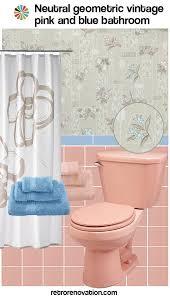 blue and pink bathroom designs. Vintage Pink And Blue Bathroom Designs A