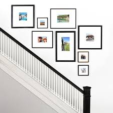 Framebridge Designers Choice The Up The Stairs Gallery Wall Maintains Perfect Vertical