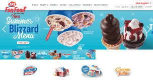 Dairy Queen Menu Calories Chart Access Dq Com Dairy Queen Fan Food Not Fast Food Treats
