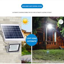 Solar Powered Flood Lights Outdoor Us 28 18 35 Off High Quality 6v Durable Energy Saving Waterproof Solar Powered Sensor Led Flood Light Outdoor Garden Security Lamp 15w 625 In Solar