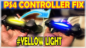 Yellow Light Pc How To Fix Your Ps4 Controller If Only A Yellow Light Flashes After Plugged In 2018 Resolution
