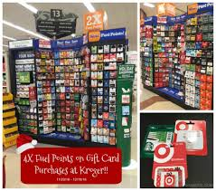 4x kroger fuel points gift card promo