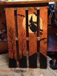 Witch pallet | Fall Pallet Paintings | Pinterest | Pallets ...