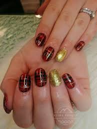 Classic Design Nails Classic Christmas Nail Design Christmas Nail Designs Nail