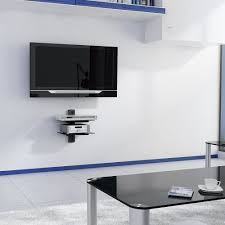 ... Mount With Shelf Wall Units, V Floating Shelf With Strengthened  Tempered Tv Shelf Ideas: Best Tv Wall ...