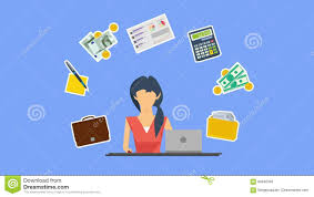 Animation Design Services Animation Design Of Resolution Of Accounting Service Stock