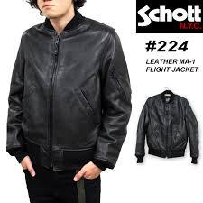 ショット schott カウレザー ma 1 フライト ジャケット leather ma 1 flight jacket レザージャケット